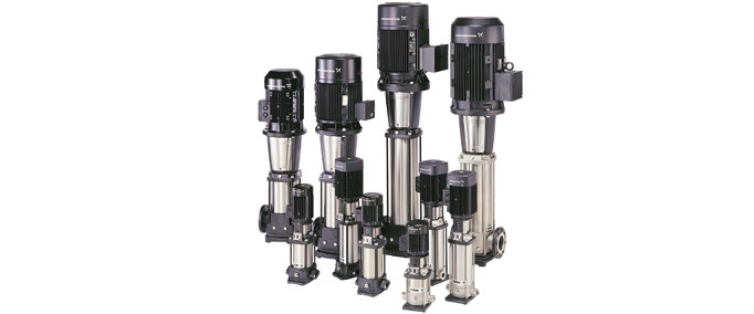 Grundfos CR(I/N/E) Vertical Multistage Pumps