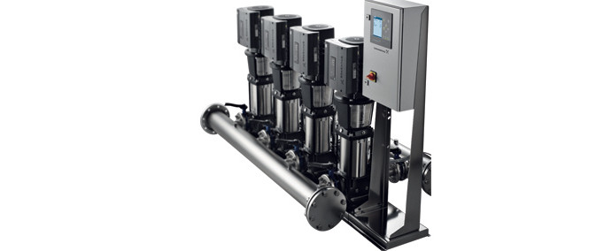 Grundfos Hydro MPC-E Pumpset - Water Boosting Applications